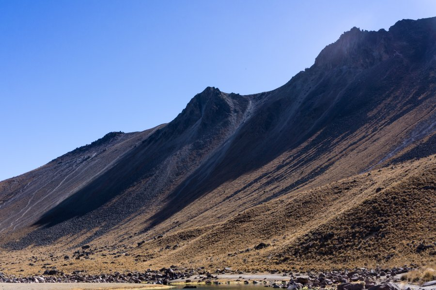 Volcan Nevado de Toluca, Mexique