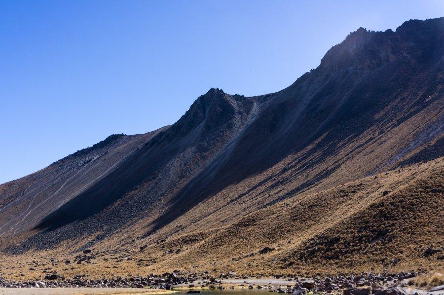 Volcan Nevado de Toluca, Mexique
