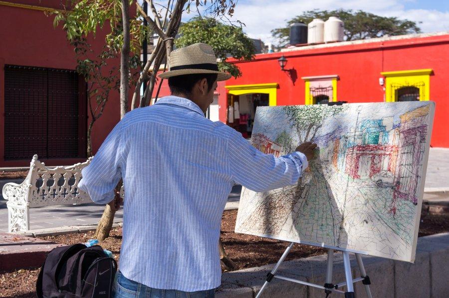 Ruelles colorées de Oaxaca