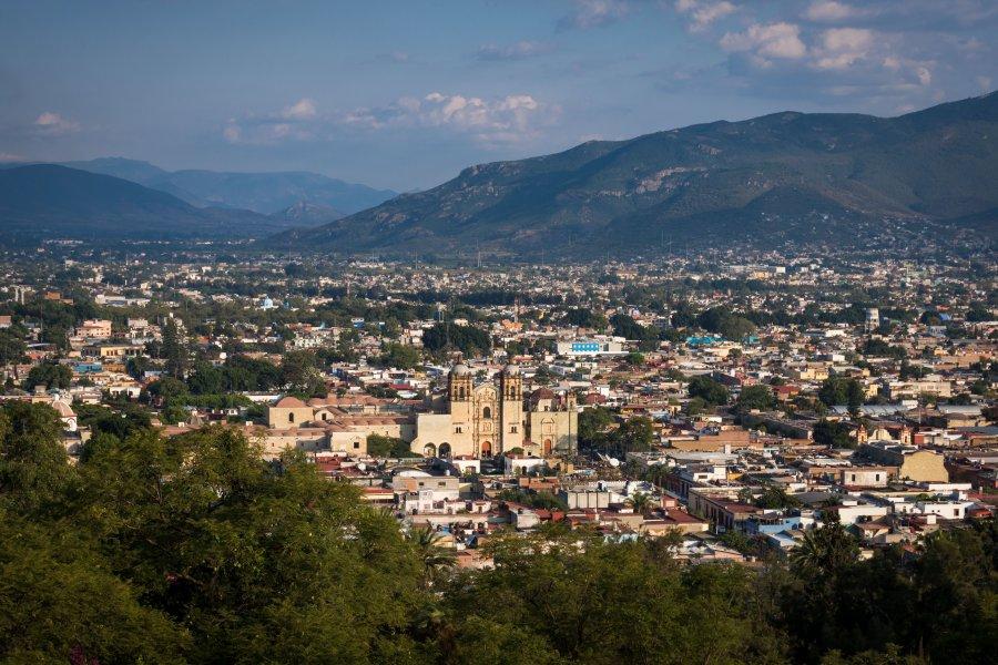 Vue sur Oaxaca de Juarez, Mexique