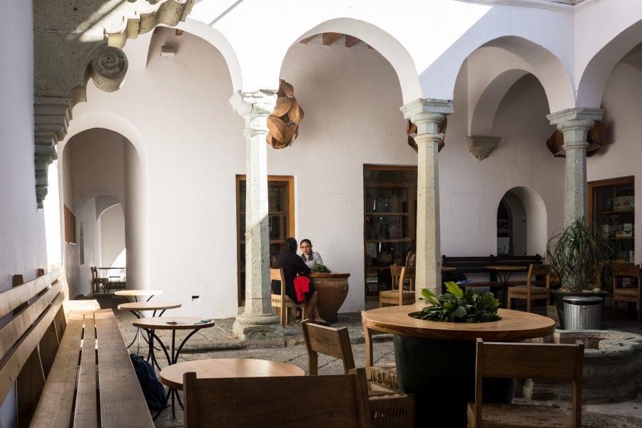Café Brujula à Oaxaca