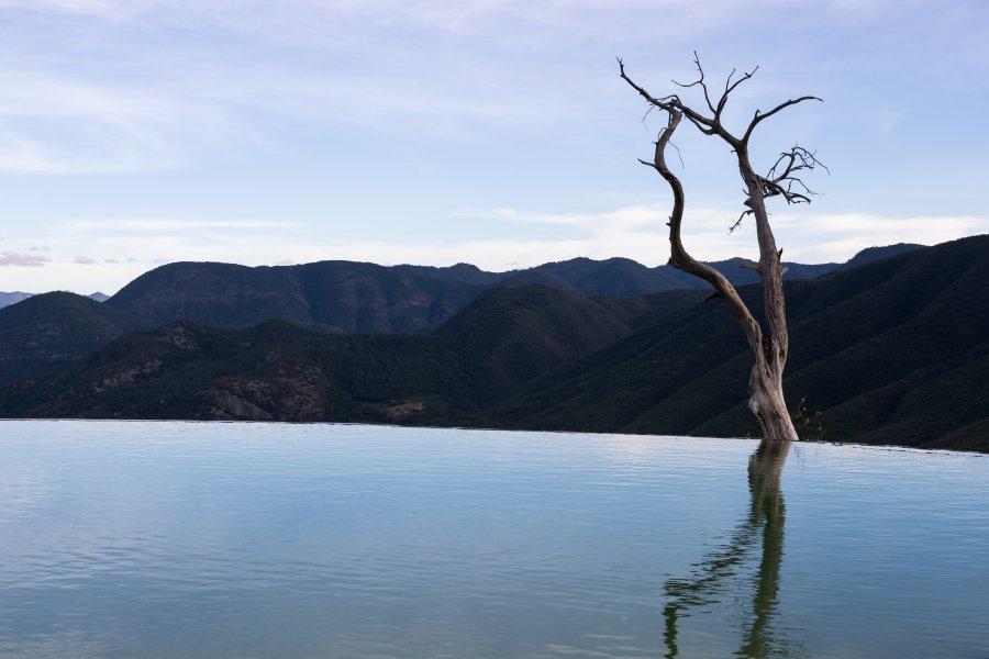 Piscine naturelle de Hierve el Agua