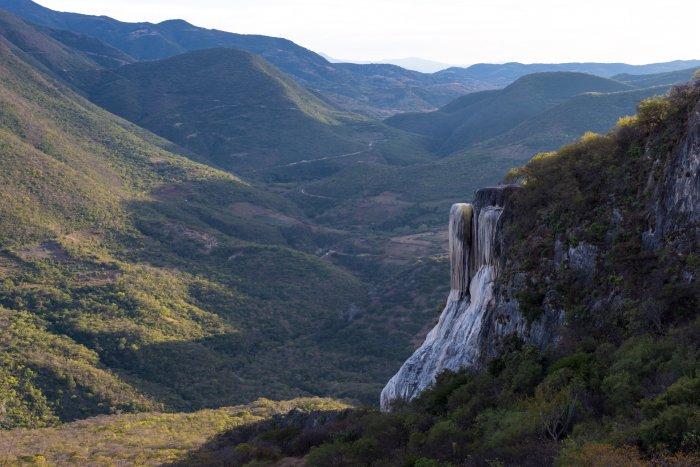 Cascade pétrifiée de Hierve el Agua, Mexique
