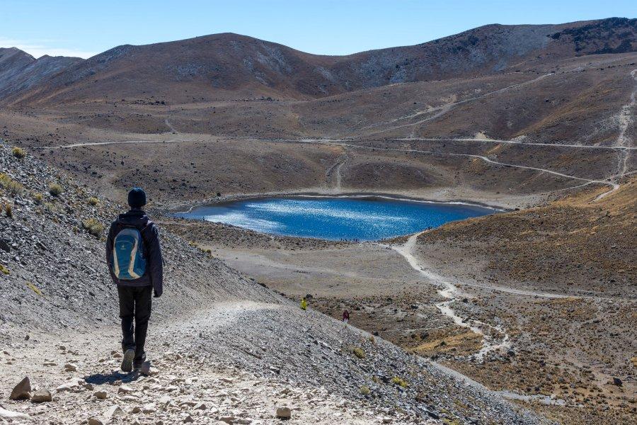 Cratère du volcan Nevado de Toluca