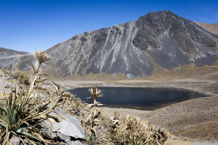 Lac du Nevado de Toluca, Mexique