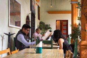 Café à Oaxaca