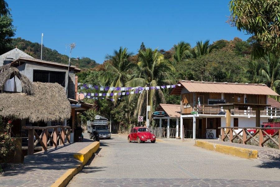 Village de Mazunte, Mexique