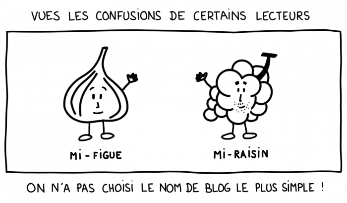 Dessin : Mi-figue, mi-raisin