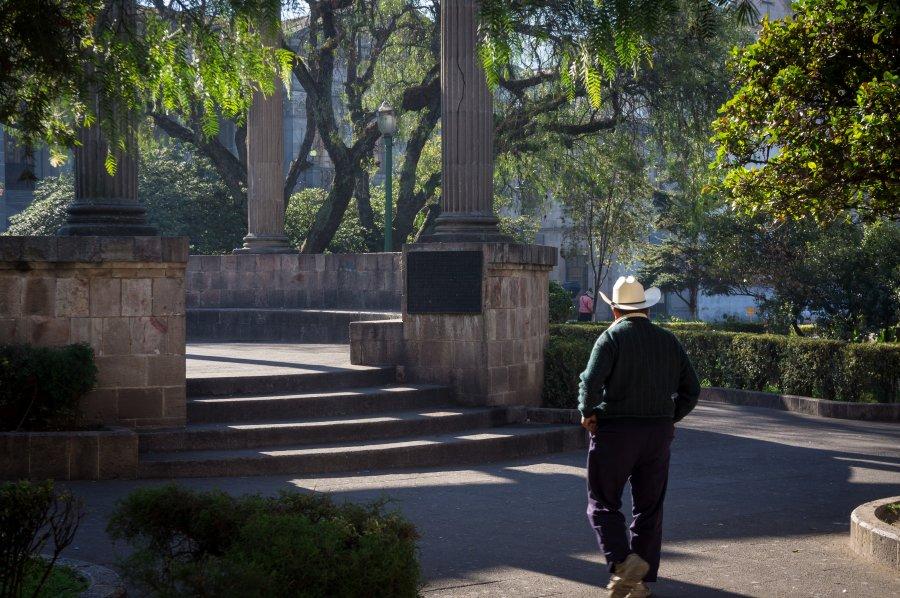 Homme à chapeau, Quetzaltenango, Guatemala