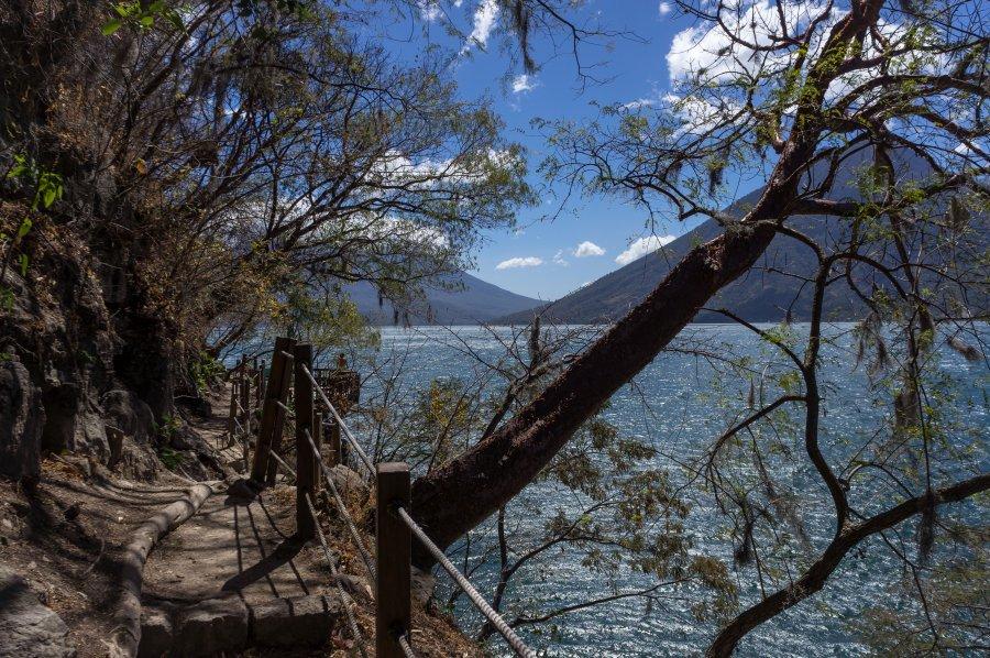 San Marcos La Laguna, Atitlán, Guatemala