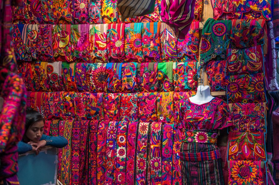 Vêtements traditionnels du Guatemala