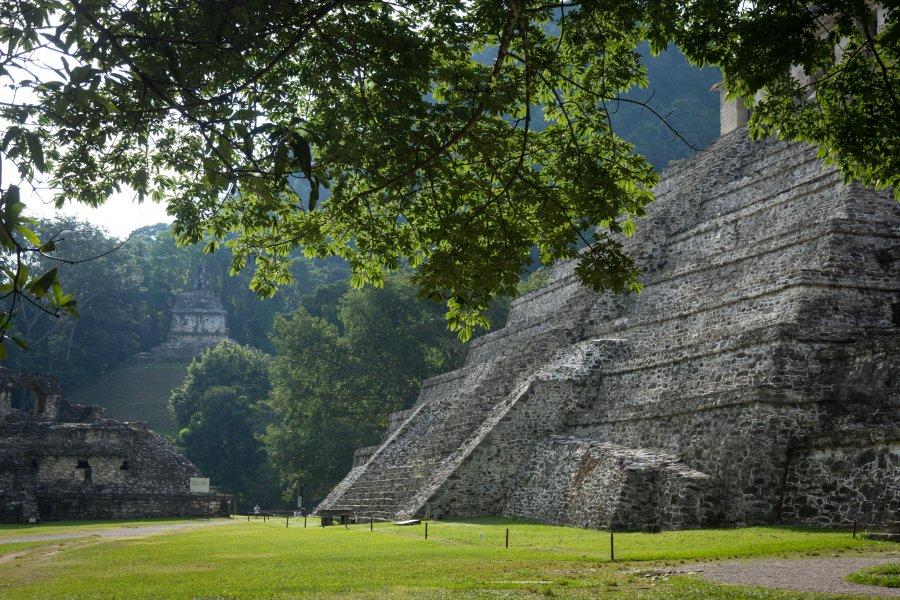 Cité maya de Palenque, Chiapas, Mexique