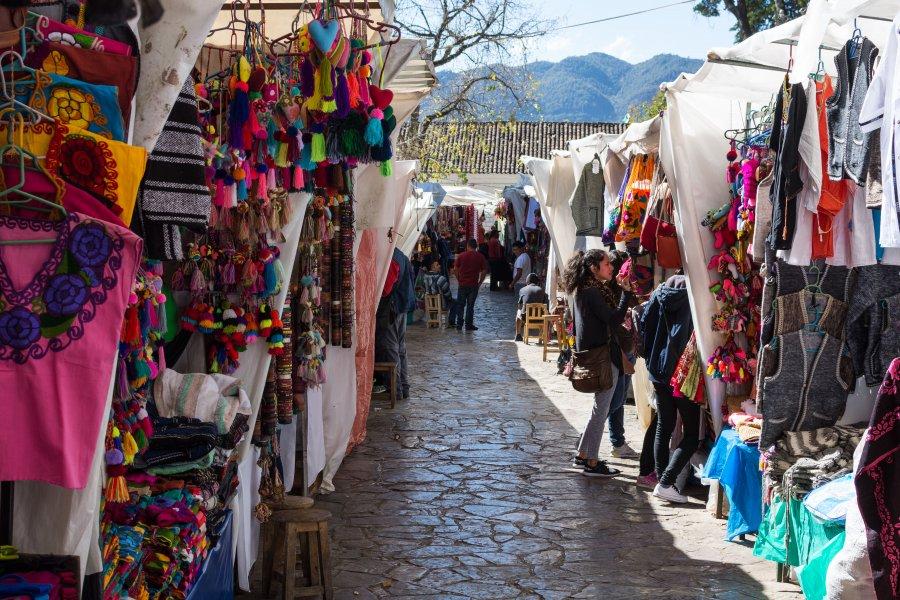 Marché de San Cristóbal de Las Casas, Mexique