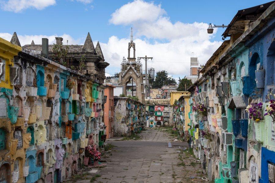 Cimetière coloré de Quetzaltenango, Guatemala