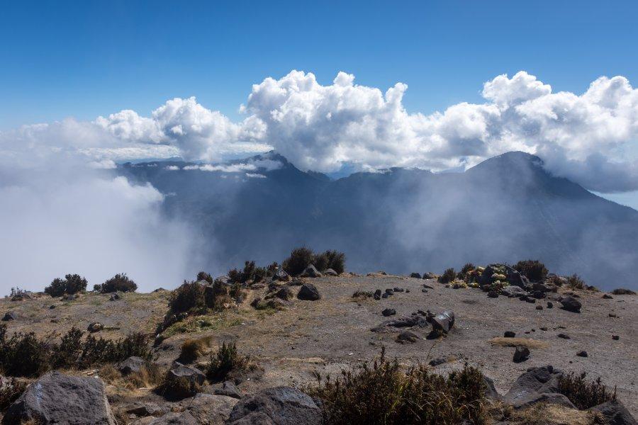 Sommet du volcan Santa Maria, Guatemala