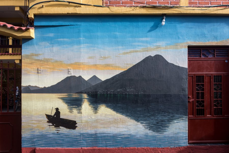 Lac Atitlán, Guatemala