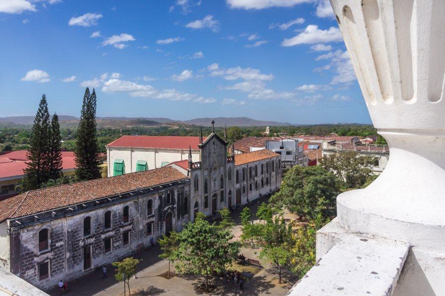 Vue sur León depuis la cathédrale