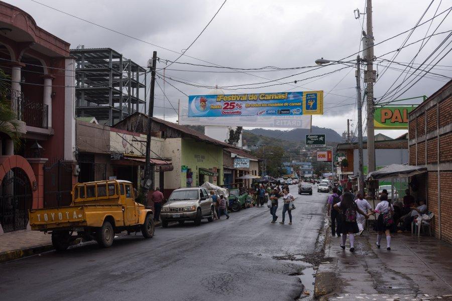 Ville de Matagalpa, Nicaragua