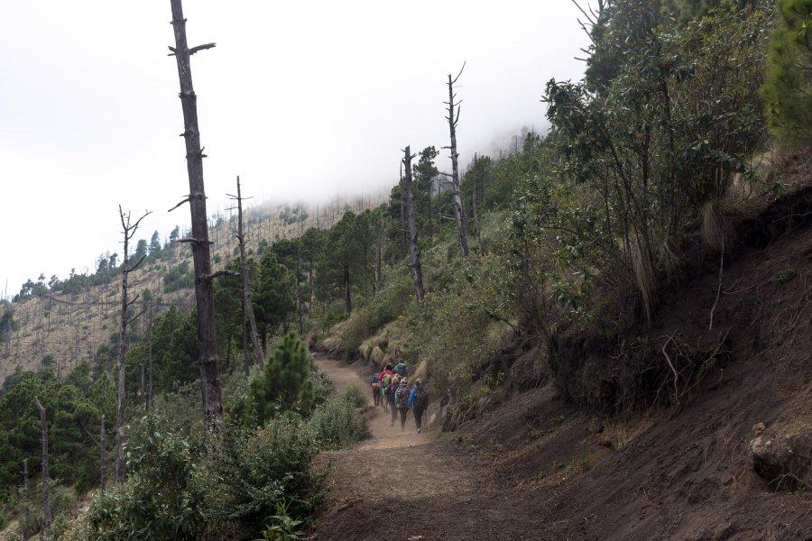 Ascension du volcan Acatenango, Guatemala