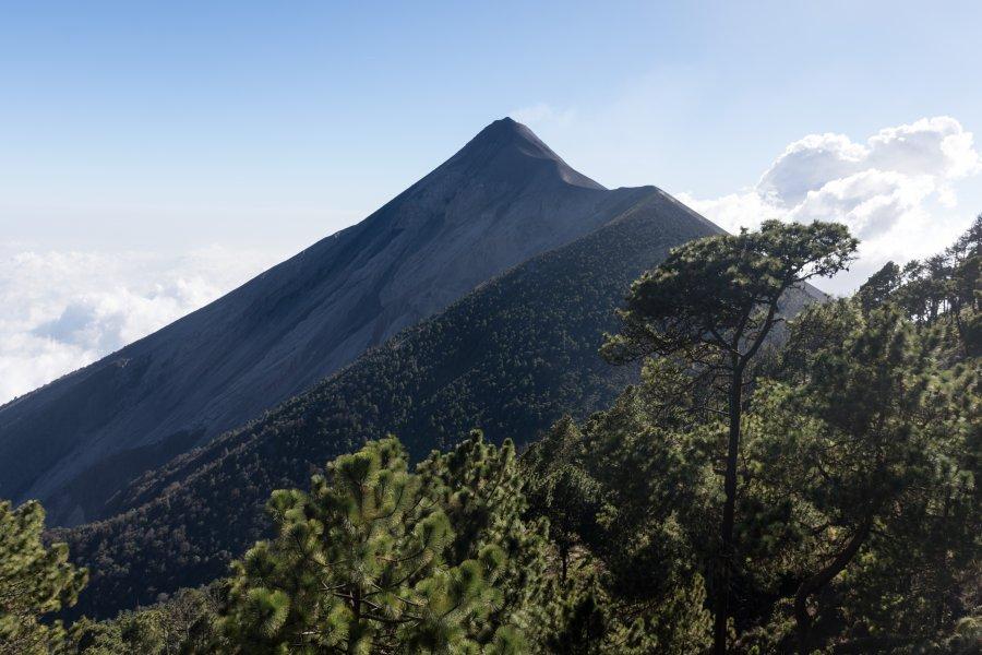 Volcan Fuego, Guatemala