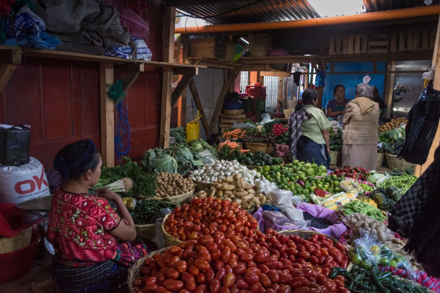 Marché d'Antigua Guatemala