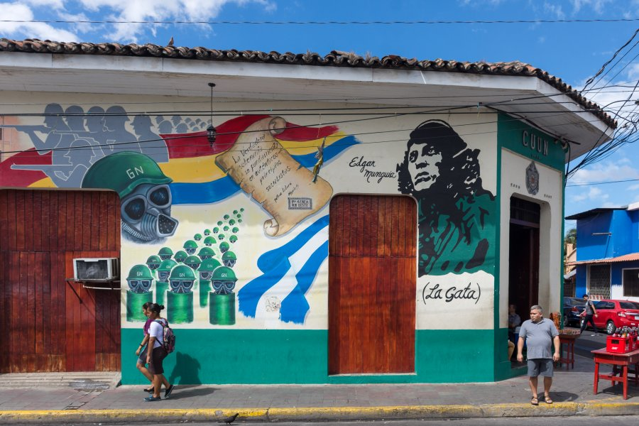 Ville de León, Nicaragua