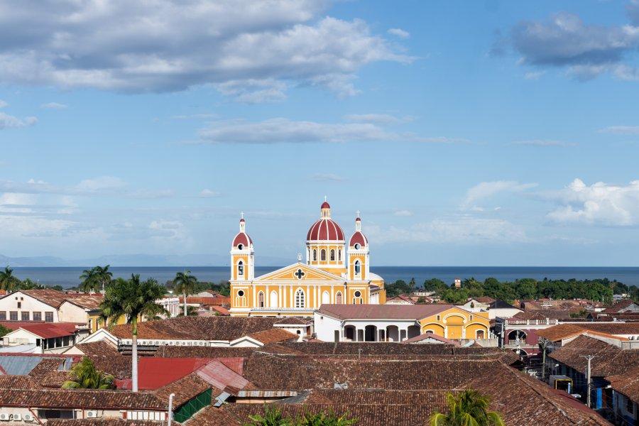Ville de Grenade au Nicaragua