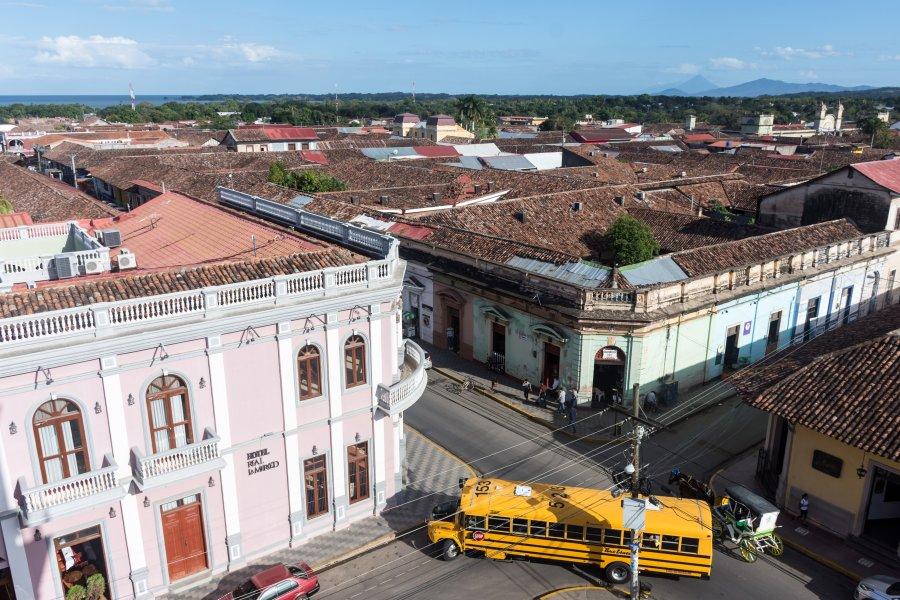 Granada vue d'en haut, Nicaragua