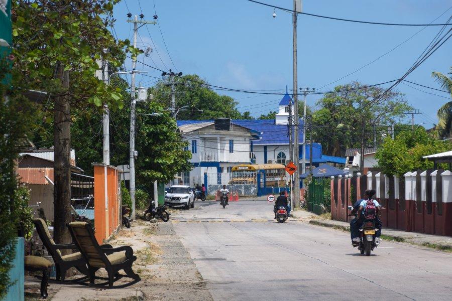 Centre de l'île de San Andres, Colombie