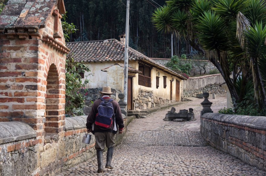 Village de Monguí, Colombie