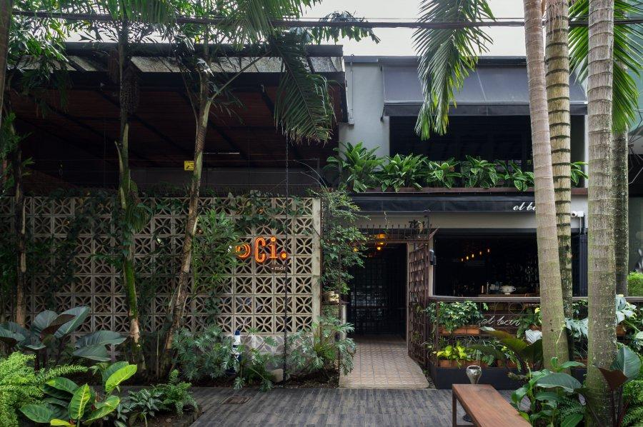 Quartier Poblado, Medellín, Colombie