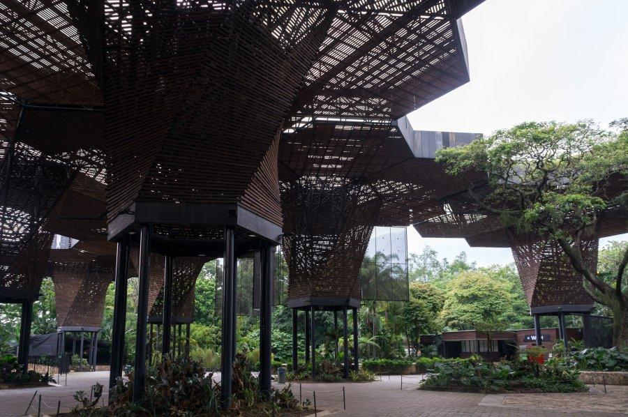 Jardin botanique de Medellín, Colombie