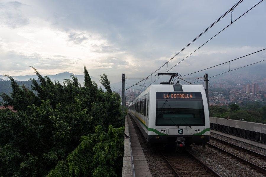 Le métro moderne de Medellín