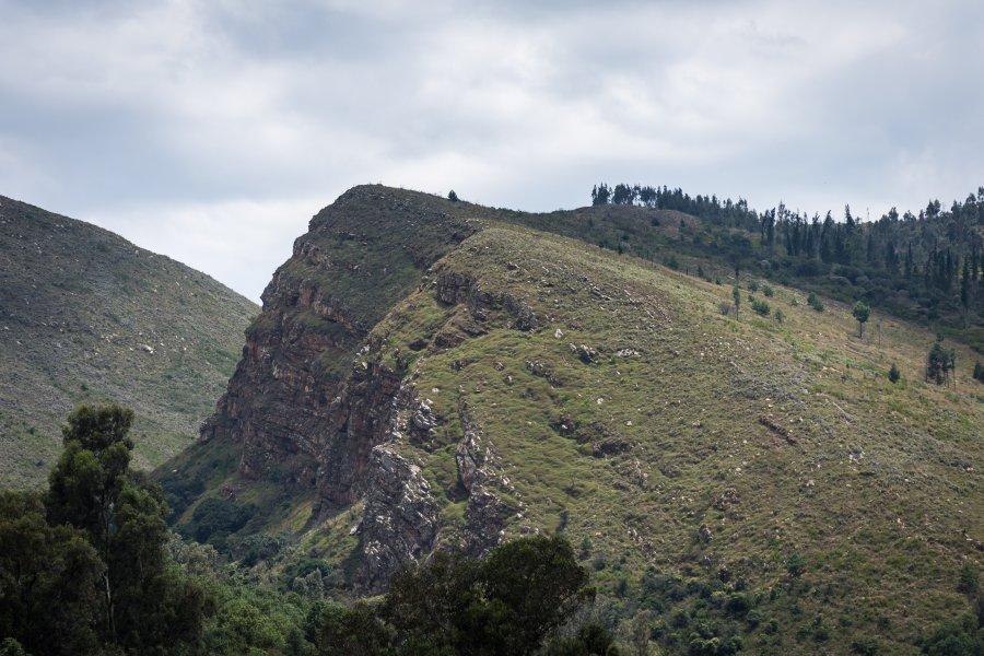Mirador de Villa de Leyva, Colombie