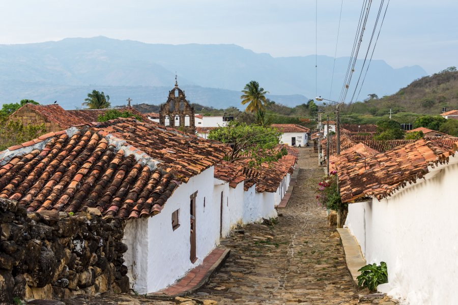 Village de Guane, Colombie