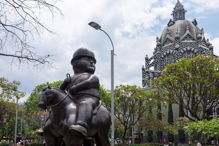 Statue de Botero, Medellín, Colombie