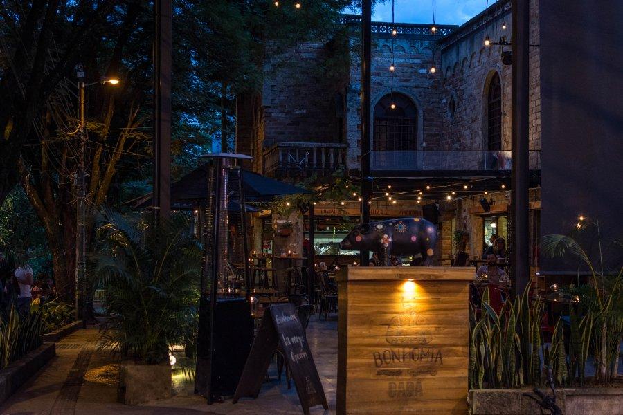 Restaurant de Poblado, Medellín, Colombie