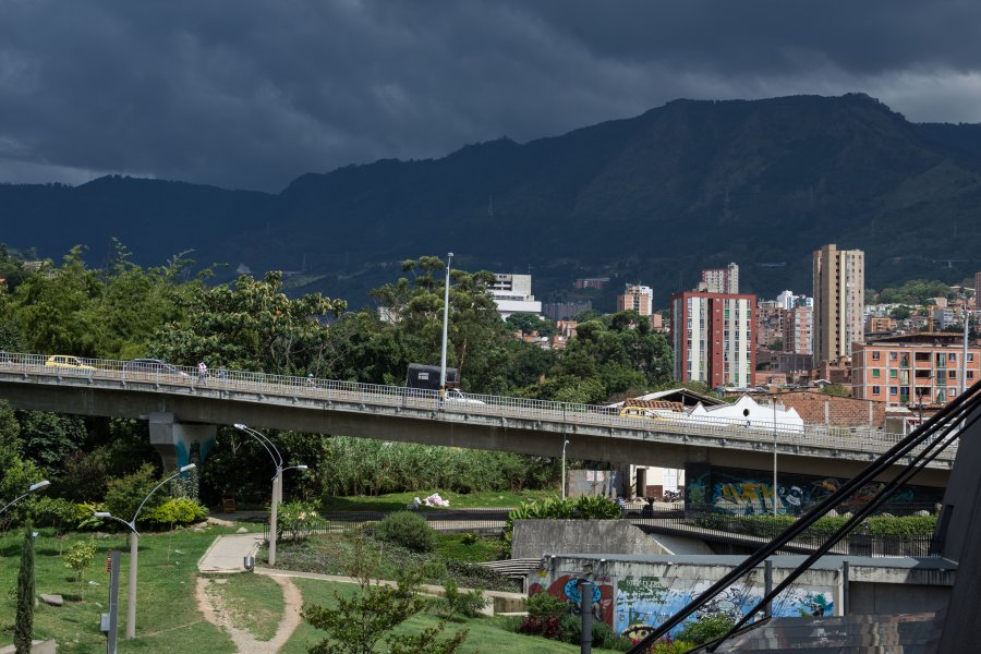 Medellín sous le soleil