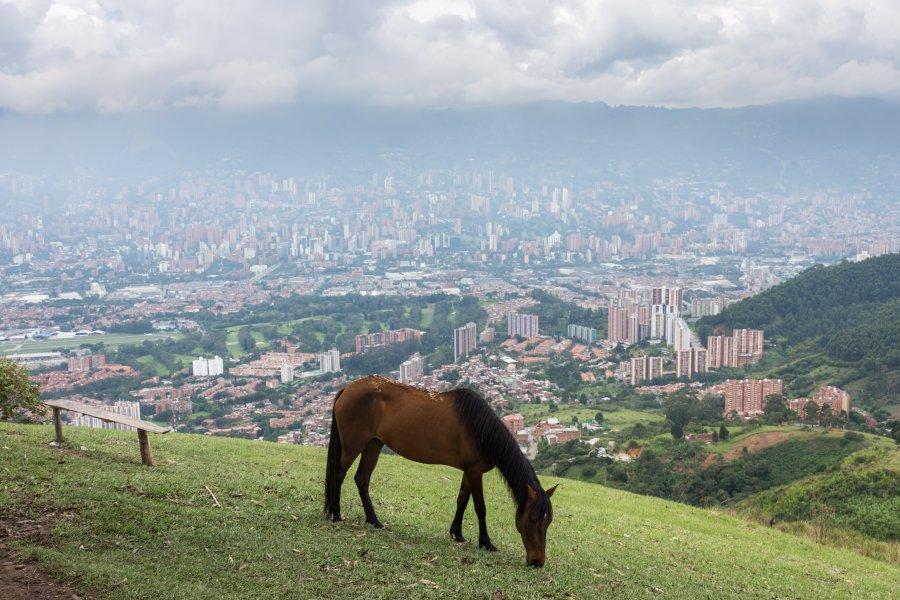 Cerro de las Tres Cruces, Medellín, Colombie