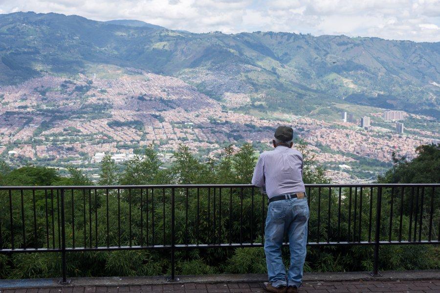 Quartier de Santo Domingo, Medellín, Colombie