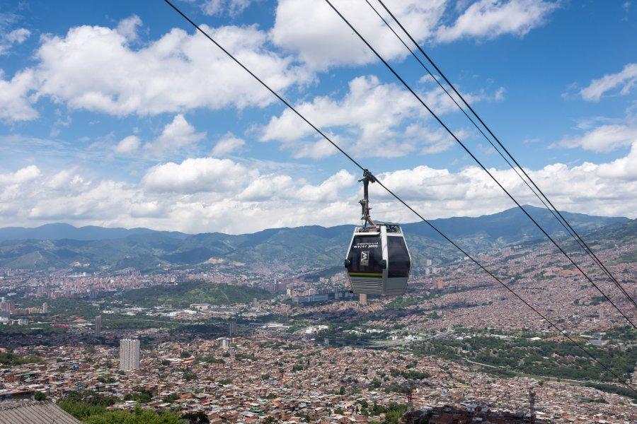 Téléphérique métrocable de Medellín