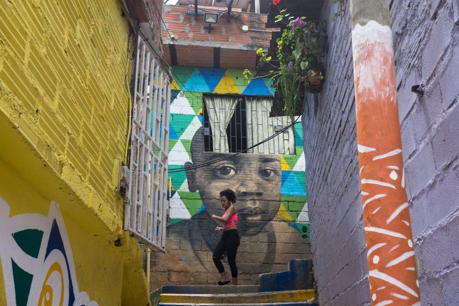 Quartier Moravia, Medellín, Colombie