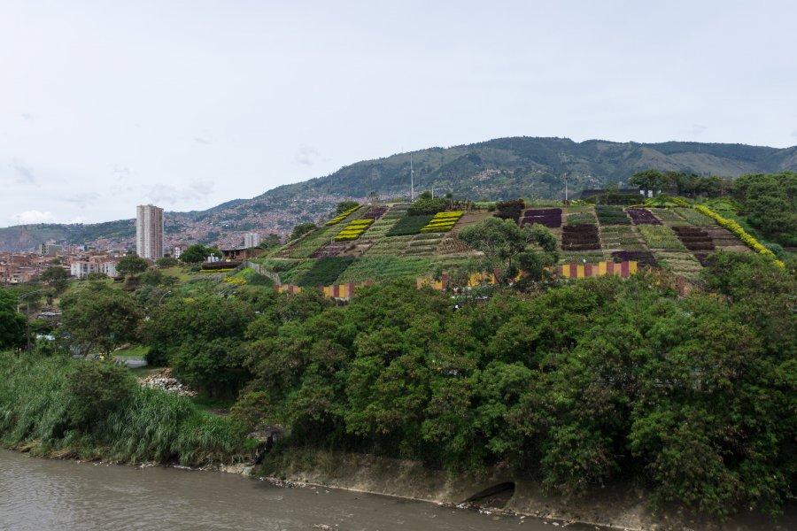 Colline de déchets, Moravia, Medellín