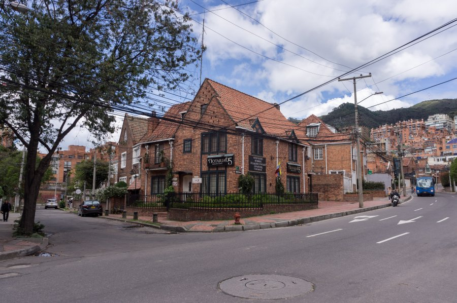 Quartier Chapinero, Bogota, Colombie