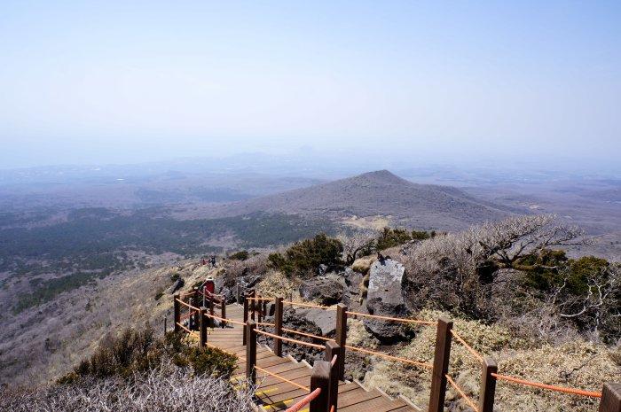 Randonnée sur le mont Hallasan, Jeju, Corée du Sud