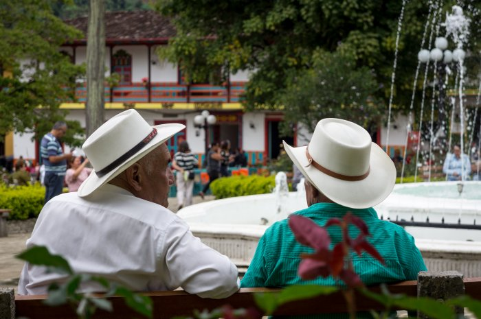 Village de Jardín, Colombie