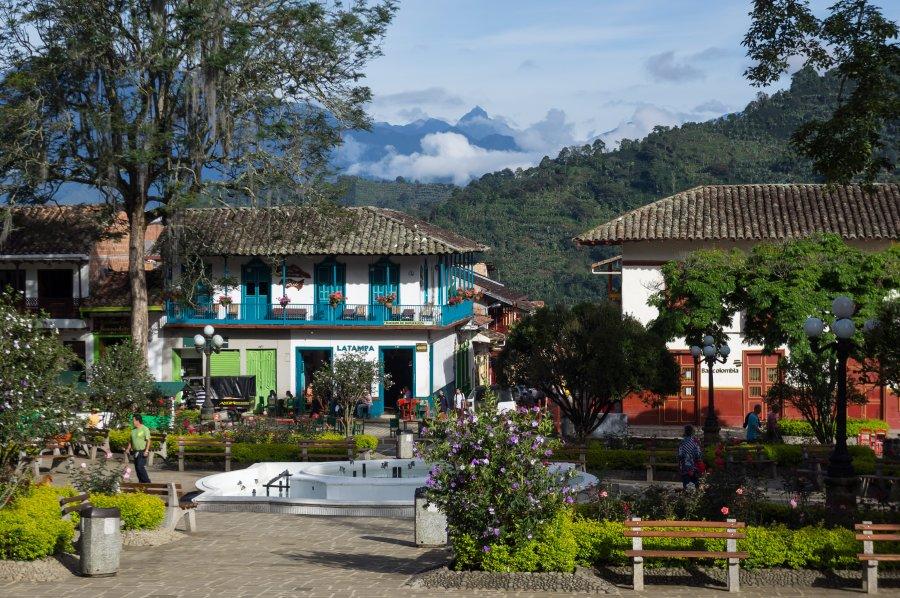 Jardin En Colombie La Vie Au Ralenti Au Milieu Des Cowboys Notre