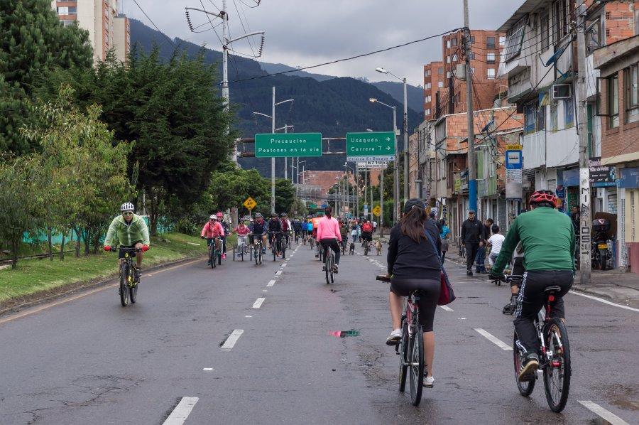 Dimanche : jour de vélo à Bogota
