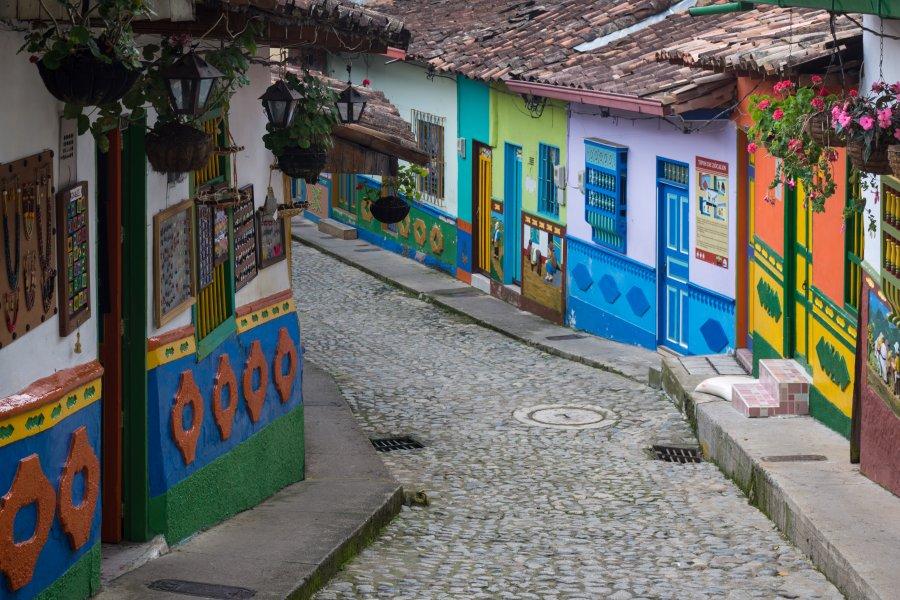 Village de Guatapé en Colombie