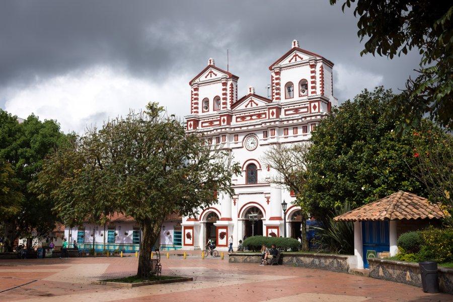 Église de Guatapé, Colombie